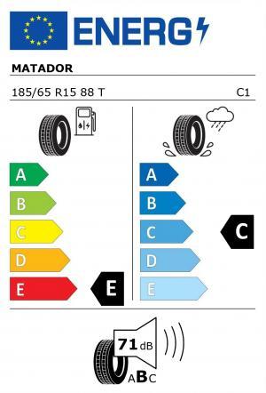 Spotřeba paliva - Přilnavost na mokrém povrchu - Hluk: E - C - 71 db (B)>
