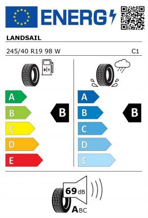 Spotřeba paliva - Přilnavost na mokrém povrchu - Hluk: B - B - 69 db (A)>