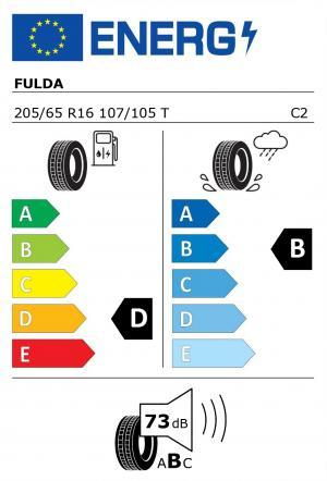 Spotřeba paliva - Přilnavost na mokrém povrchu - Hluk: D - B - 73 db (B)>