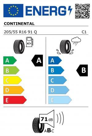 Spotřeba paliva - Přilnavost na mokrém povrchu - Hluk: A - B - 71 db (B)>