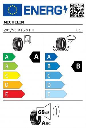 Spotřeba paliva - Přilnavost na mokrém povrchu - Hluk: A - B - 68 db (A)>