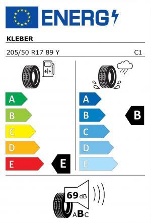 Spotřeba paliva - Přilnavost na mokrém povrchu - Hluk: E - B - 69 db (B)>